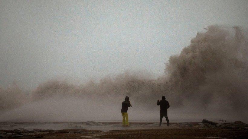 """Medicane """"Udine"""" bedroht Griechenland: Orkanböen und meterhohe Wellen"""