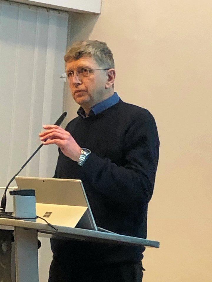Professor Jürgen Kuck von der Ostfalia-Hochschule ist überzeugt, dass der Mensch Ursache des Klimawandels ist.